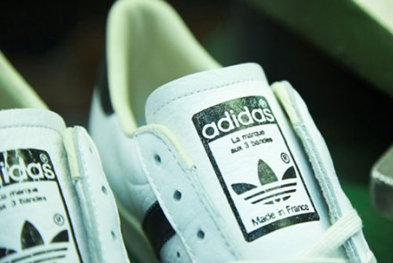 sneakers adidas consortium superstar made in france
