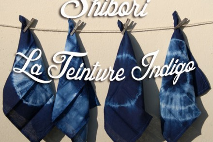 shibori technique teinture indigo tie and dye