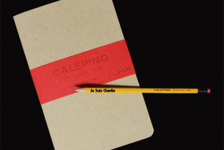 je suis charlie crayon papier made in france